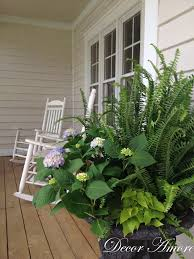 Fern Decor by Decor Amore Southern Living Inspired Porch Planter Reveal