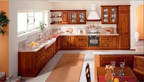 cuisines en bois cuisine en bois massif moderne pour une pensez mlanger le thoigian