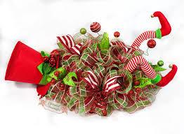 whimsical elf legs christmas centerpiece by splendid homecrafts on
