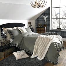 Chic Duvet Covers Timberland Bear Fleece Bed Set Rustic Bedding Duvet Covers Rustic