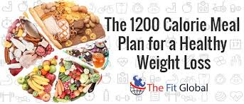what is 1200 calorie diet plan and how its work for weight loss