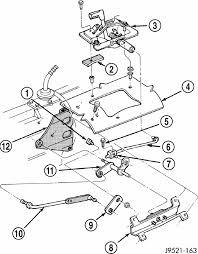 2000 jeep wrangler transfer wrangler automatic transmission 2wd the linkage needs adjustment