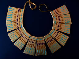 how to make a necklace for your egyptian costume