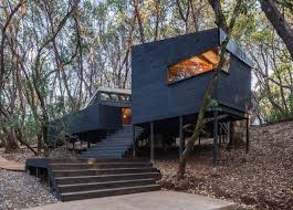tent cabin tent cabin cluster blends perfectly into a californian forest