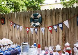 nautical baby shower decorations for home nautical theme baby shower ideas my sister s suitcase