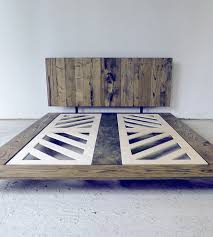 Reclaimed Wood Platform Bed Reclaimed Wood Platform Bed Features Reclaimed Wood Modern
