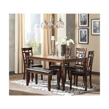 ashley dining table and chairs design by ashley dining room 6 piece table set d384 325