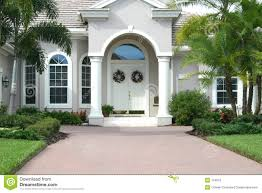 home entrance wallpaper elegant entrance to beautiful home stock photos image with