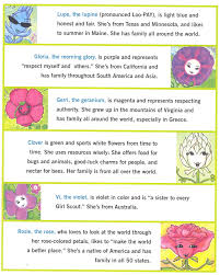 6 of amazing daisy u0027s flower friends each one is represented in