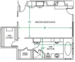 Entry Vestibule by Master Bathroom With Closet Floor Plans