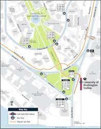 Seattle Light Rail Future Map by New Link Connections Service Change Information King County