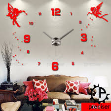 Angel Wings Home Decor by Popular Princess Wall Clock Buy Cheap Princess Wall Clock Lots