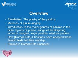 psalms in christian worship ppt