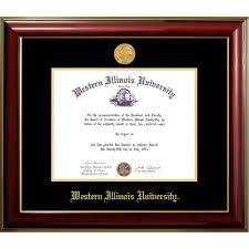 of illinois diploma frame western illinois classic diploma frame western illinois