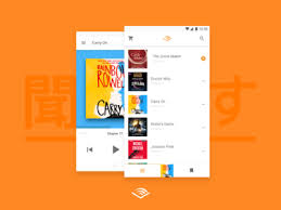 audible for android audible android by julius koroll dribbble