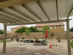 Lattice Pergola Roof by Two Tone Alumawood Lattice Cover