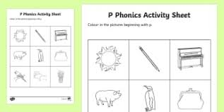 phase 1 worksheets primary resources phase one page 1