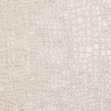 Grey Velvet Upholstery Fabric Pearl White Shiny Reptile Skin Look Velvet Upholstery Fabric