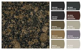 what color cabinets go with brown granite i just spotted the colors brown granite
