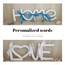 personalized home decor signs personalized words customized words customized message words