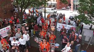 halloween party cleveland pumpkinnation u0027s cleveland browns ultimate tailgate party 2014