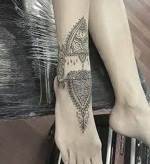the 25 best ankle cuff tattoo ideas on pinterest simple wrist