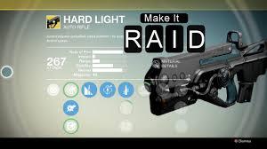 hard light destiny 2 destiny gun guide 2 hardlight youtube