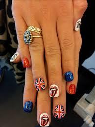 British Flag Nails Union Jack Nails U2013 Secondblonde
