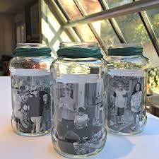 photo centerpieces jar photo centerpieces momof6