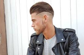 feathered brush back hair 25 new men s hairstyles to get right now