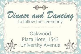Wedding Reception Only Invitation Wording Wedding Invitation Wording Dinner And Dancing To Follow Matik For