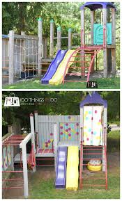 backyard playground makeover 100 things 2 do