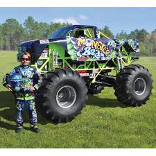 monster jam all trucks the mini monster truck hammacher schlemmer