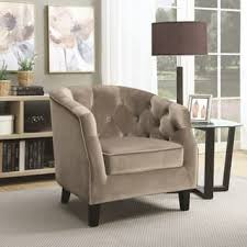 Accent Chair For Living Room Taupe Living Room Chairs For Less Overstock Com