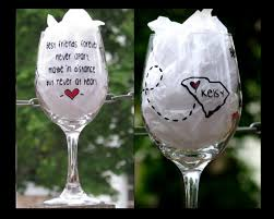 wine glass gifts friend gift best friend gift bff wine glass gifts for