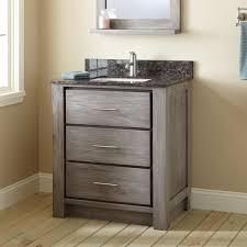 30 venica teak vanity for rectangular undermount sink gray wash