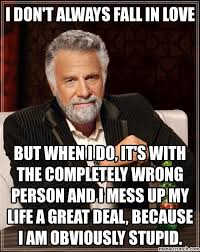 Dos Equis Guy Meme Generator - don t always fall in love