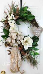 front doors trendy magnolia wreaths for front door magnolia