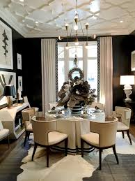 sophisticated dining room ideas for your home design black trim