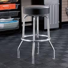 shop bar stool swivel seat shop stool bar stool from sporty s tool shop