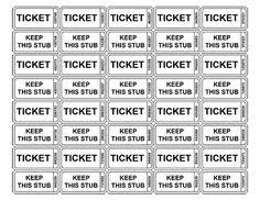 blank raffle ticket templates event ticket template ticket
