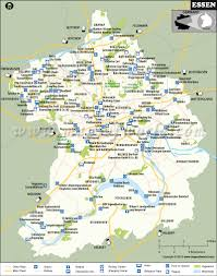 Map Of Dc Area Essen Map City Map Of Essen Germany