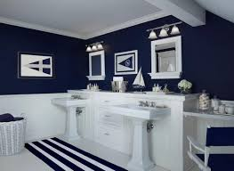 Bathroom Rugs And Accessories Bathroom Navy Blue Bathroom Stunning Striped Bath Rug And