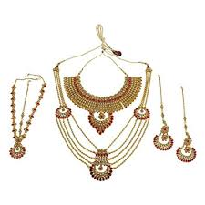 bridal set necklace earring images Much more traditional indian style glamorous polki jpg
