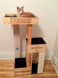 40 cool diy cat tree condos or cat climbers