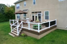Deck Handrail Amazing White Deck Railing U2014 New Decoration How Do You Attach A