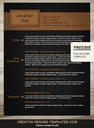 creative resume templates free resume badak