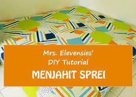 dasar membuat pola baju ebook download diy tutorial menjahit sprei elevensies