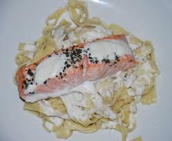 cuisine pav de saumon pavé de saumon et tagliatelles fraîches la cuisine de pascaline