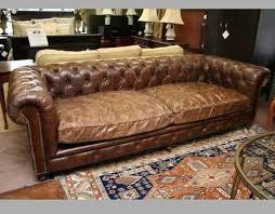 Leather Sofa Used Used Rh Leather Sofa